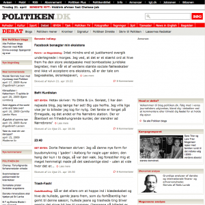 Politiken Blogs